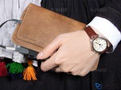 کیف چرمی نگهدارنده گوشی WUW P40 Phone Wallet