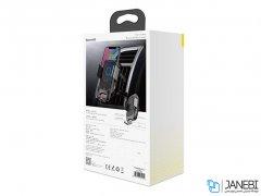 پایه نگهدارنده هوشمند و شارژ بی سیم داخل خودرو بیسوس Baseus Car Wireless Charger Smart Vehicle