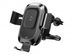 پایه نگهدارنده هوشمند و شارژ بی سیم داخل خودرو بیسوس Baseus Car Wireless Charger