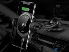 پایه نگهدارنده هوشمند و شارژر وایرلس توتودیزاین Totu Design CACW-027 Star Lord series Wireless Charge Car Mount