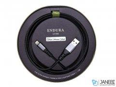 کابل شارژ و انتقال داده لایتنینگ پولو Polo Endura Luxe 2.4A MFI Lightning Cable 1.5m
