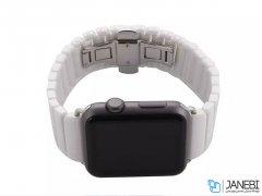 بند سرامیکی اپل واچ Apple Watch Link Bracelet Band 42/44mm
