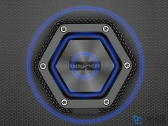 اسپیکر وایرلس باپمن Bopmen B17 Fabric portable speaker