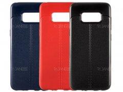 قاب ژله ای طرح چرم سامسونگ Auto Focus Jelly Case Samsung Galaxy S8