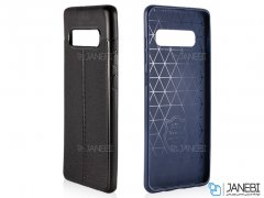 قاب ژله ای طرح چرم سامسونگ Auto Focus Jelly Case Samsung Galaxy S10