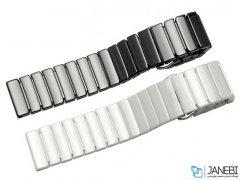 بند سرامیکی ساعت هوشمند سامسونگ Samsung Gear S3/S4 Ceramic Band 46mm