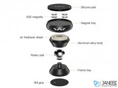 پایه نگهدارنده آهن ربایی عطری توتو Totu DCTS-010 Perfume Magnetic Holder