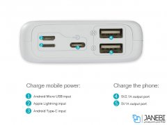 پاور بانک روموس Romoss OM10 Power Bank 10000mAh