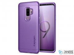 قاب محافظ و محافظ صفحه شیشه ای اسپیگن سامسونگ Spigen Thin Fit 360 Case Samsung Galaxy S9 Plus