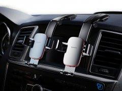 پایه نگهدارنده گوشی بیسوس Baseus Metal Age Gravity Car Mount