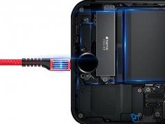 کابل شارژ و انتقال داده لایتنینگ تلفنی بیسوس Baseus Fish eye Spring Lightning Cable 1m