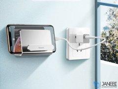 پایه نگهدارنده دیواری گوشی بیسوس Baseus Wall Mounted Metal Holder