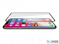 محافظ صفحه نمایش شیشه ای تمام صفحه آیفون RG Full AG Glass Apple iPhone XS Max