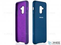 قاب محافظ سیلیکونی سامسونگ Silicone Cover Samsung Galaxy A8 2018