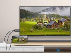 کابل مبدل لایتنینگ به اچ دی ام آی WIWU X7 Lightning HDTV Adapter 2m