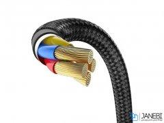 کابل لایتنینگ بیسوس Baseus Iridescent Lamp Game Cable Lightning 2m