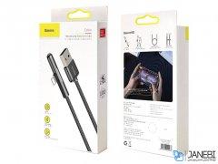 کابل لایتنینگ بیسوس Baseus Iridescent Lamp Game Cable Lightning 1m