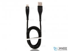 کابل شارژ لایتنینگ Kuke Design E72 Fabric Lightning Cable 1m