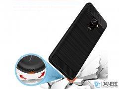 محافظ ژله ای سامسونگ Carbon Fibre Case Samsung Galaxy J6 2018