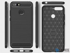محافظ ژله ای هواوی Carbon Fibre Case Huawei Y6 2018