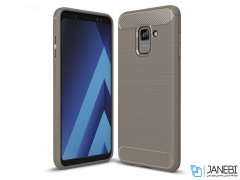 محافظ ژله ای سامسونگ Carbon Fibre Case Samsung Galaxy A8 Plus 2018