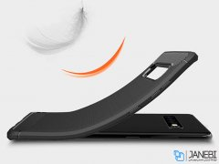 محافظ ژله ای سامسونگ Carbon Fibre Case Samsung Galaxy S10 Plus