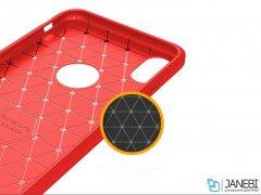 محافظ ژله ای آیفون Carbon Fibre Case Apple iphone XS Max