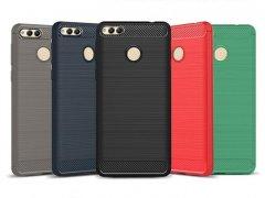 محافظ ژله ای هواوی Carbon Fibre Case Huawei Honor 7X