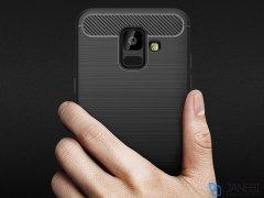 محافظ ژله ای سامسونگ Carbon Fibre Case Samsung Galaxy A6 2018
