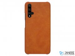 کیف چرمی نیلکین هواوی Nillkin Qin Leather Case Huawei Honor 20/Huawei Nova 5T