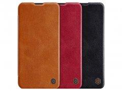 کیف چرمی نیلکین Nillkin Qin leather case Samsung Galaxy A20e