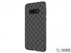 قاب محافظ فیبر نیلکین سامسونگ Nillkin Synthetic Fiber Plaid Case Samsung S10e