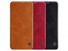 کیف Nillkin Qin leather case LG G8 ThinQ