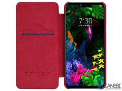 کیف نیلکین ال جی Nillkin Qin leather case LG G8 ThinQ