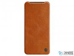 کاور چرمی نیلکین وان پلاس Nillkin Qin Leather Case OnePlus 7