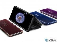 کیف هوشمند اصلی سامسونگ اس 9 پلاس Samsung Galaxy S9 Plus Clear View Standing Cover