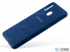 قاب محافظ طرح پارچه ای سامسونگ Protective Cover Samsung Galaxy A20/A30
