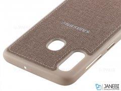 قاب محافظ طرح پارچه ای سامسونگ Protective Cover Samsung Galaxy A30