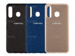 قاب محافظ طرح پارچه ای سامسونگ Protective Cover Samsung Galaxy M30
