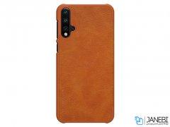کیف چرمی هواوی Nillkin Qin Leather Case Huawei Nova 5/Nova 5 Pro