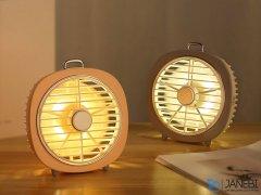پنکه رومیزی Joyroom JR-CY276 Firefly night light fan