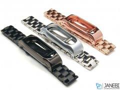 بند فلزی دستبند شیائومی Xiaomi Metal Mi Band 2 Metal Strap