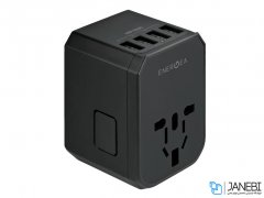 شارژر دیواری انرژیا Energea TravelWorld Adapter USB Charger