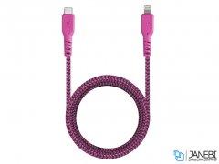 کابل تبدیل تایپ سی به لایتنینگ انرژیا Energea Fibratough Cable Type-C to Lightning 1.5M