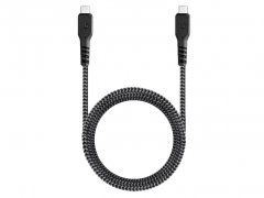 کابل شارژ سریع و انتقال داده تایپ سی انرژیا Energea Fibratough Cable Type-C to Type-C PD Fast Charge 1.5M