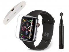 محافظ صفحه شیشه ای یو وی اپل واچ UV Glass Apple Watch 40mm