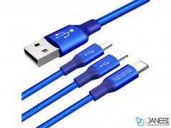کابل شارژ سه سر نیلکین Nillkin Swift 3-in-1 Cable 1.5m