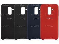 قاب محافظ سیلیکونی سامسونگ Silicone Cover Samsung Galaxy A6 Plus 2018
