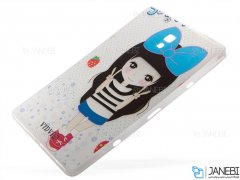 قاب تبلت سامسونگ طرح دختر Samsung Galaxy Tab A 10.5 T595 Case Girl