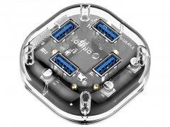 هاب یو اس بی 4 پورت اوریکو Orico 4 Port USB3.0 Transparent HUB H4U-U3